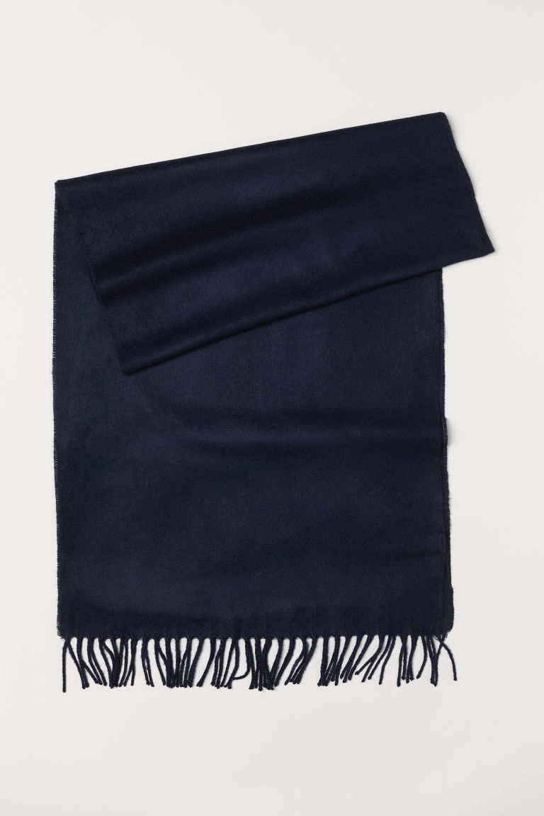 Scarf - Dark blue - Men | H&M US