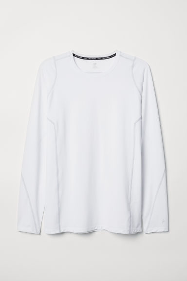 Sports top - White - Men | H&M CN