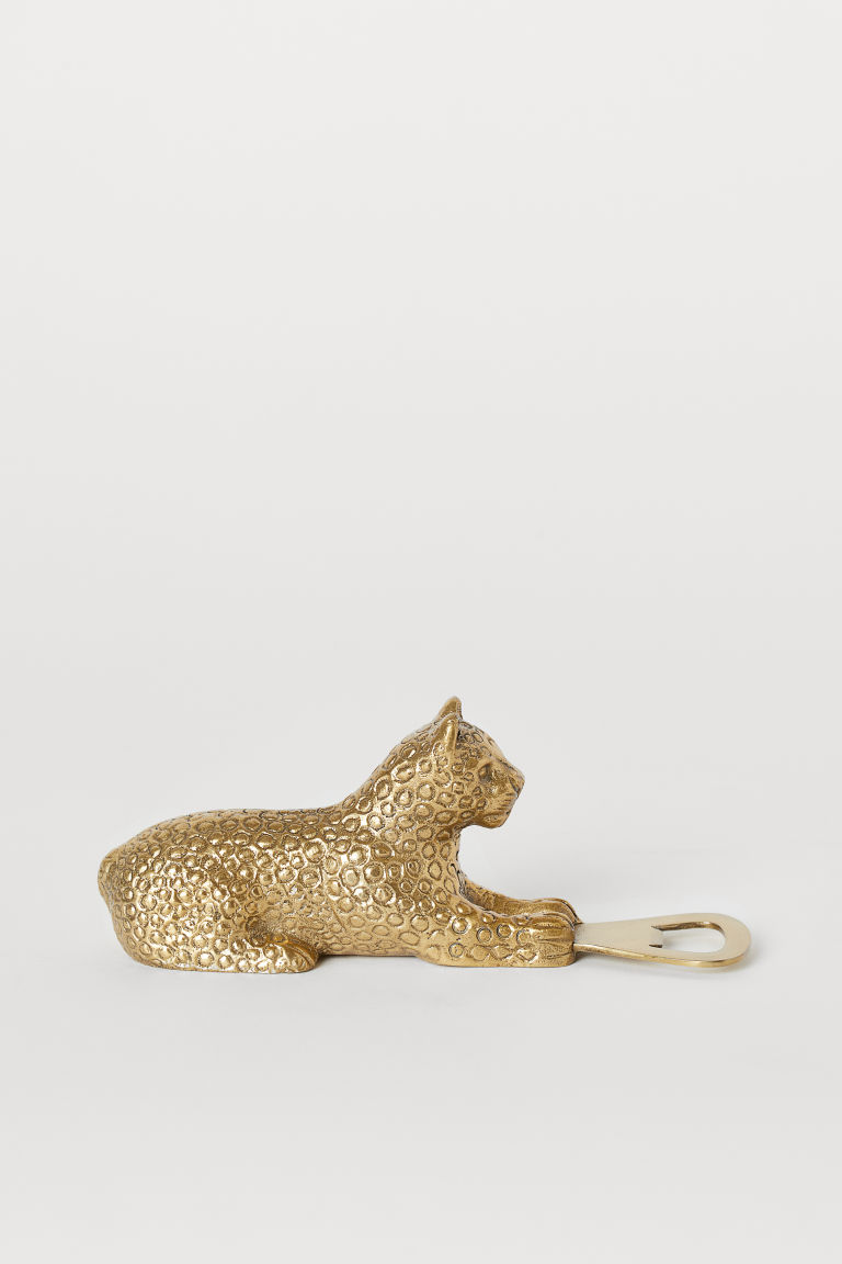 Metal bottle opener - Gold-coloured - Home All | H&M GB