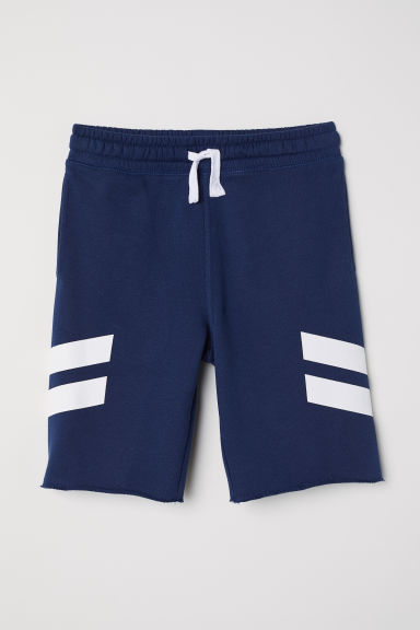 Sweatshirt shorts - Dark blue -  | H&M