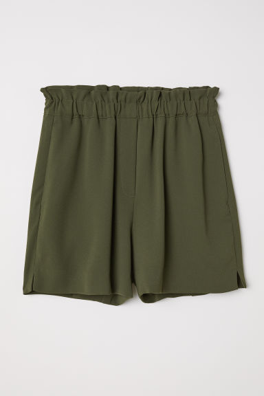 Shorts pull-on - Verde kaki scuro - DONNA | H&M IT