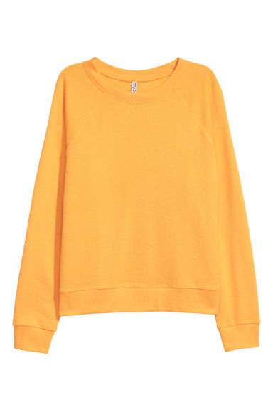 Sweatshirt - Yellow -  | H&M IE