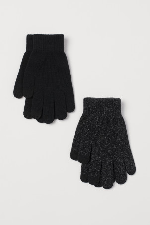 2-pack touchscreen glovesModel
