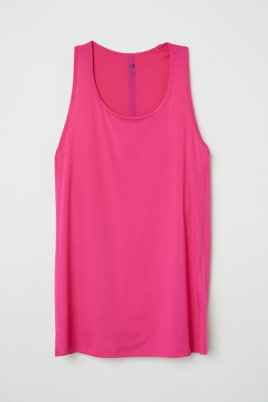 Sports vest top - Cerise - Ladies | H&M
