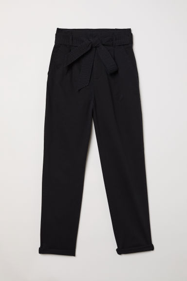 Utility trousers - Black - Ladies | H&M