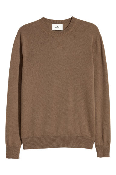 Cashmere jumper - Brown - Men | H&M