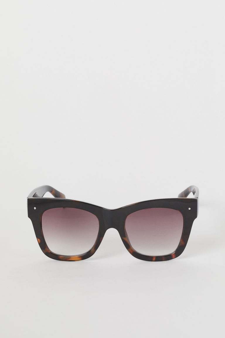 Sunglasses - Black/Tortoiseshell-patterned - Ladies | H&M CN