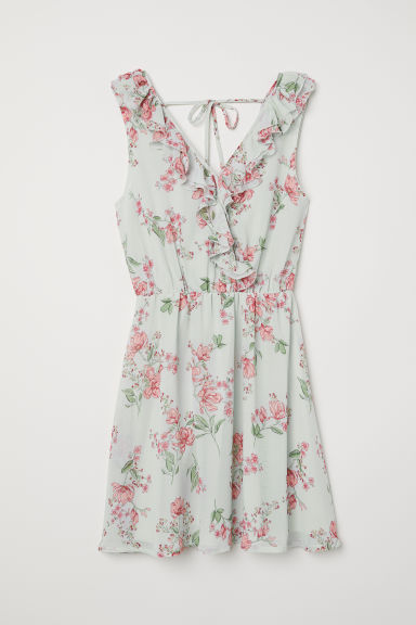 Wrap dress - Light turquoise - Ladies | H&M CN