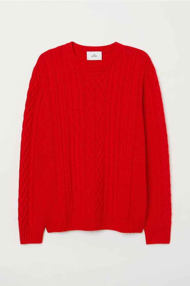 3395e8e3f2b Cable-knit Wool Sweater