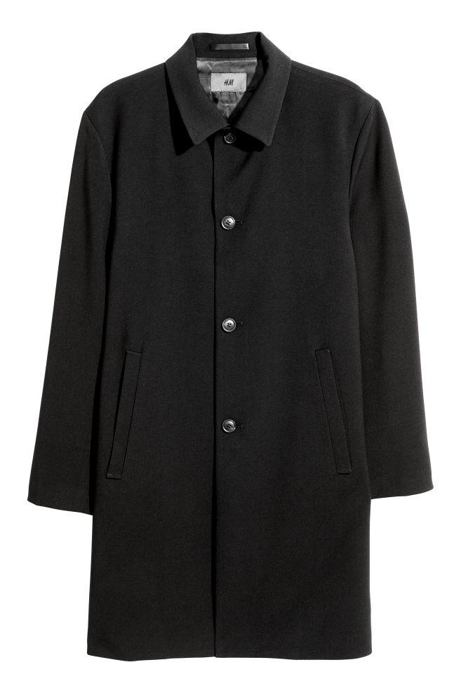 32752d5ff6 Kabát - Fekete - FÉRFI | H&M ...