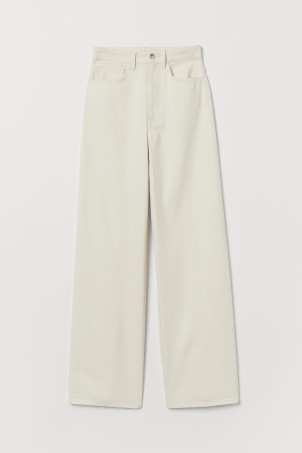 Pantalon ample en twill