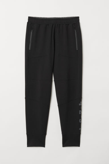 Sports trousers - Black - Men | H&M CN