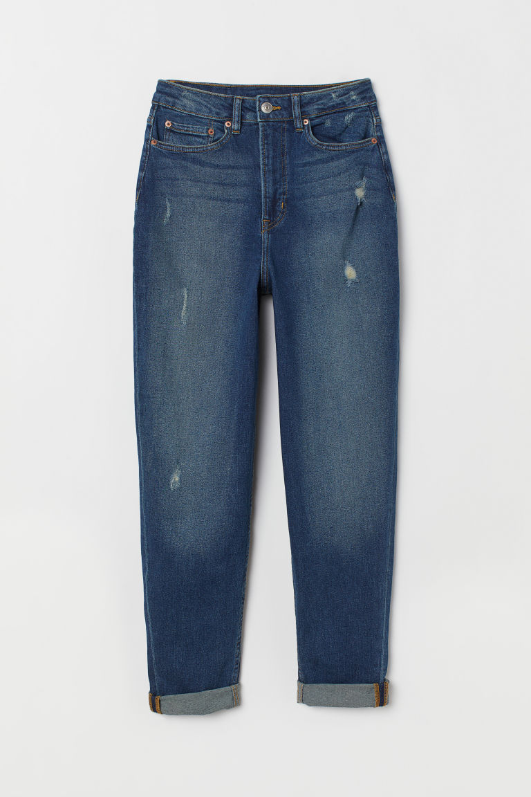 Mom Jeans - Azul denim -  | H&M ES