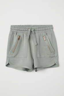 Shorts with zips