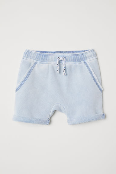 Sweatshirt shorts - Light blue - Kids | H&M