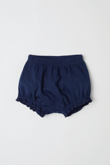 Cotton puff pants - Dark blue - Kids | H&M