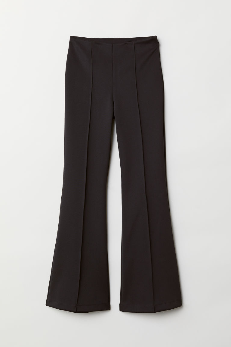 Pantaloni ampi - Nero - DONNA | H&M IT