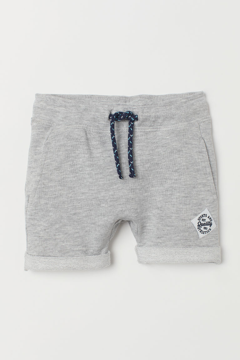 Short en molleton - Gris chiné - ENFANT | H&M BE