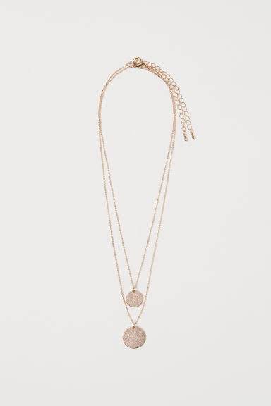 2-pack necklaces - Gold-coloured -  | H&M CN