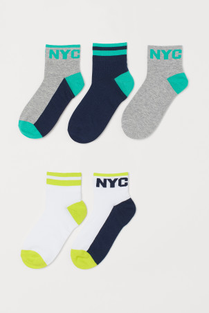 5-pack sports socks