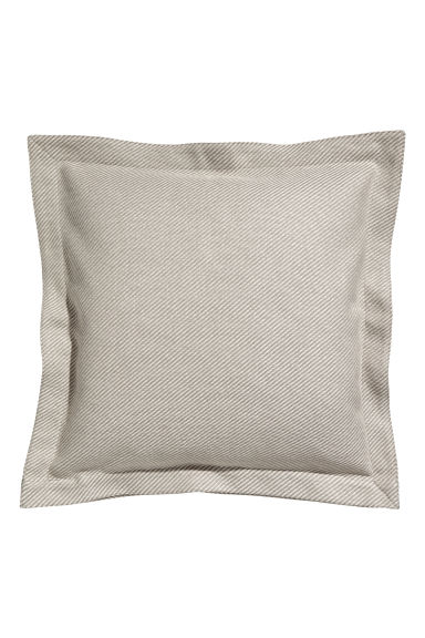 Diagonal-striped cushion cover - Mole/Diagonal-striped - Home All | H&M GB
