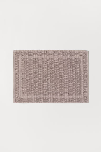 Tapis de bain - Taupe - Home All | H&M FR
