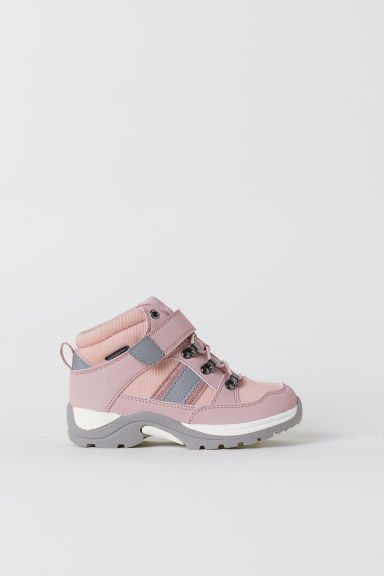 Waterproof boots - Light pink/Grey - Kids | H&M CN