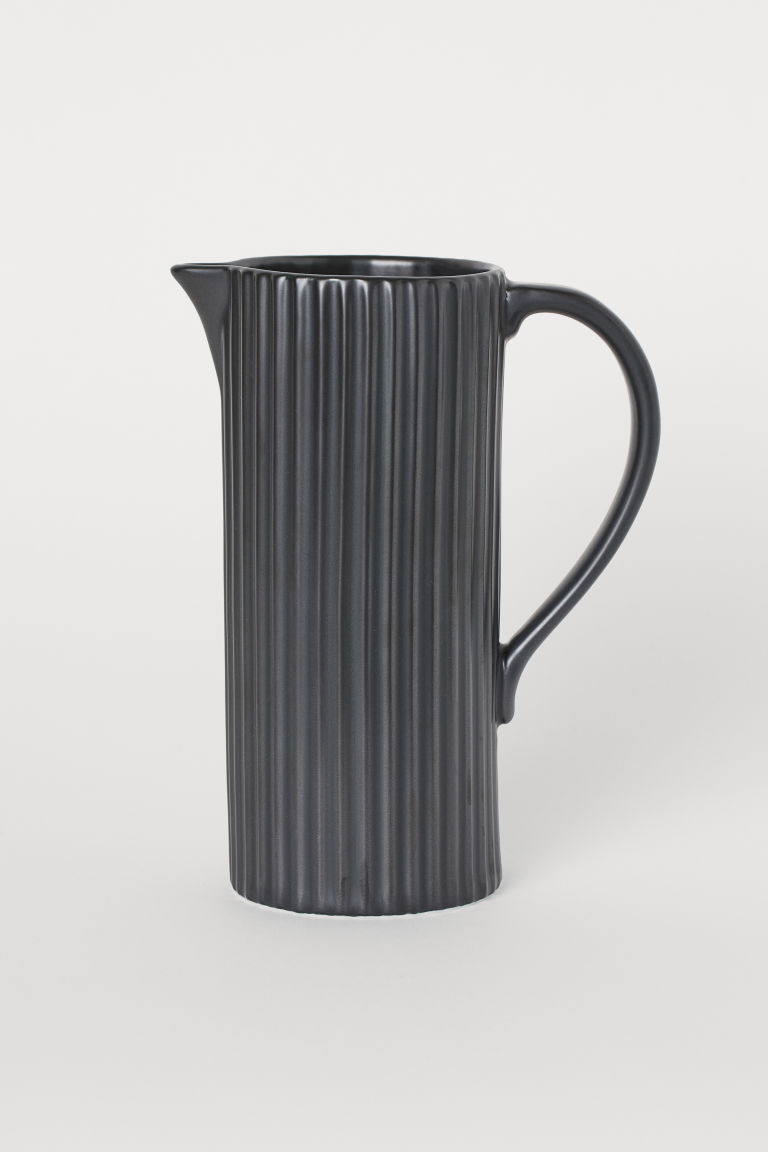 Porcelain jug - Black - Home All | H&M CN