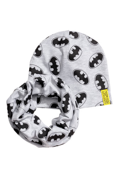 Muts en snood - Grijs/Batman -  | H&M BE