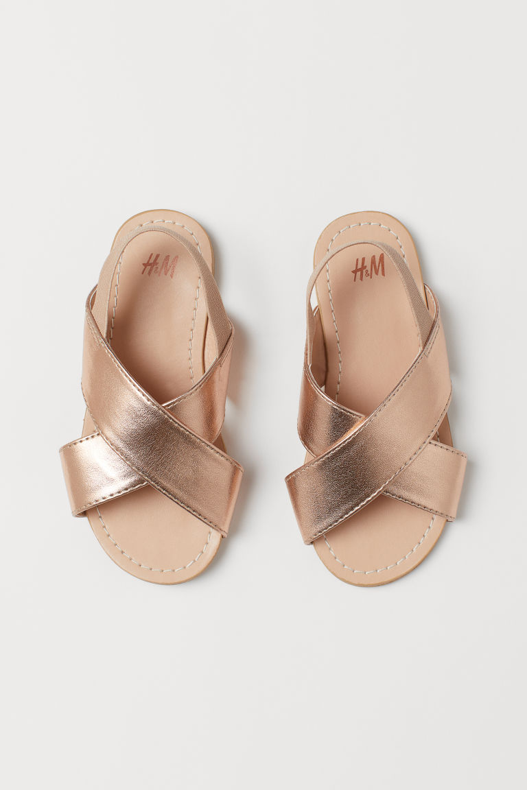Sandals - Rose gold-coloured - Kids | H&M GB