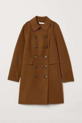 Dvojradový kabát 2c0f76af1a7