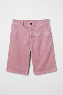 Cotton corduroy shortsModel