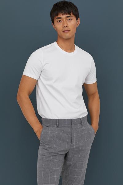 H&M - Camiseta en algodón premium - 1