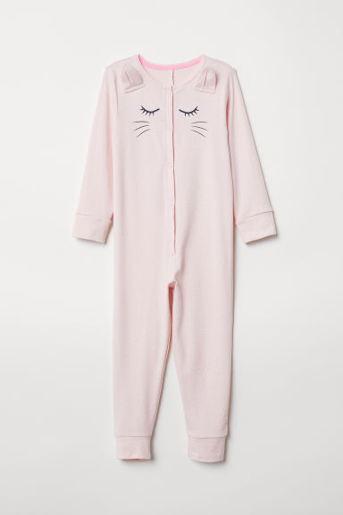 Jersey pyjamas - Light pink - Kids | H&M