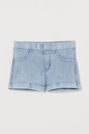 Shorts im Denimlook