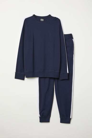 Pyjamas - Dark blue - Men | H&M GB