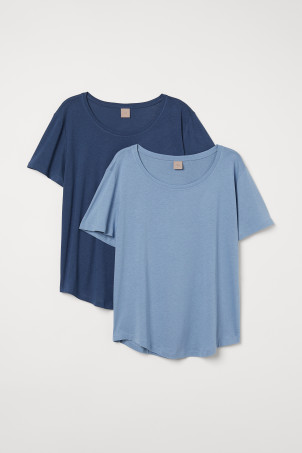 H&M+ 2-pack modal-mix T-shirtsModel