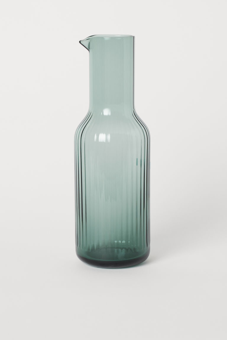 Small carafe - Green - Home All | H&M CN