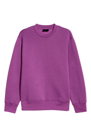 Sweatshirt - Purple - Men | H&M