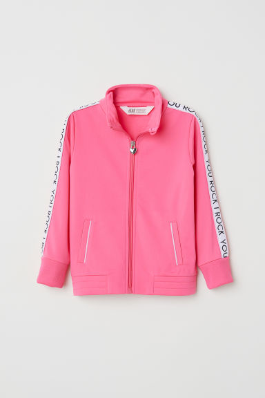 Casaco de desporto - Rosa néon/You Rock -  | H&M PT