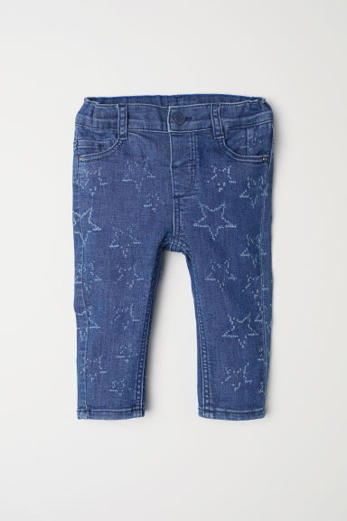 Jeans - Denim blue/Stars -  | H&M