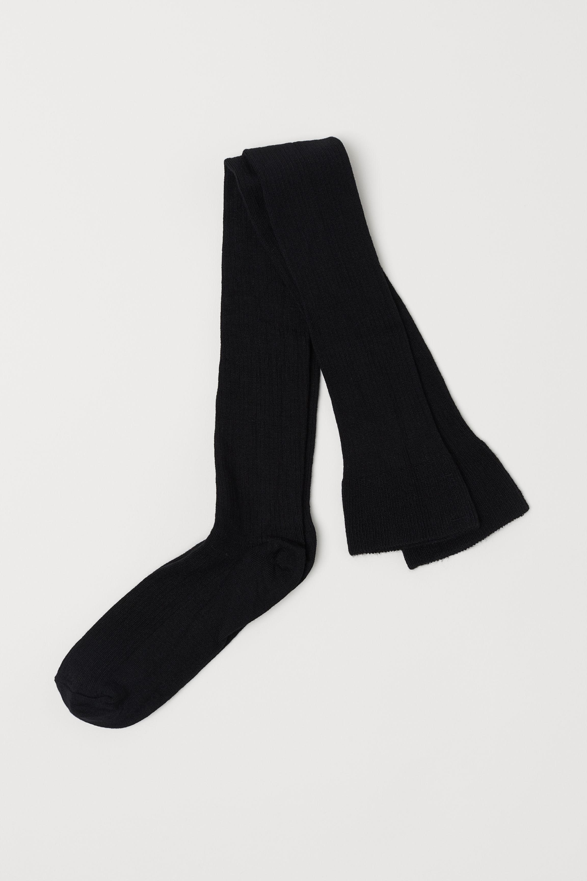 090d8552e Thigh-high Over-knee Socks - Black -