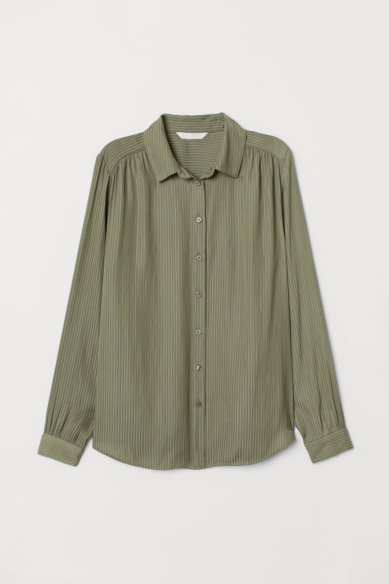 Long Sleeved Blouse by H&M
