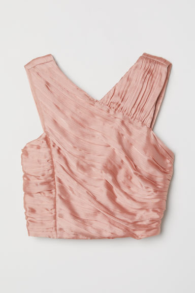 Top in chiffon - Albicocca -  | H&M IT