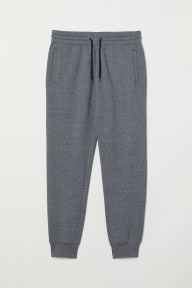 Sweatpants - Dark blue marl - Men | H&M CN
