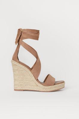 e244d8a26e7 Sandals & Espadrilles - Shoes for women online | H&M GB