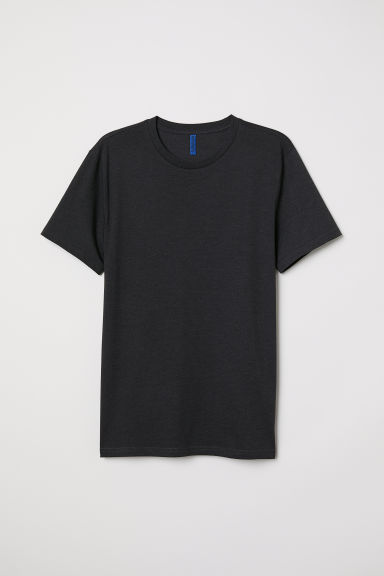 T-shirt - Dark grey marl - Men | H&M