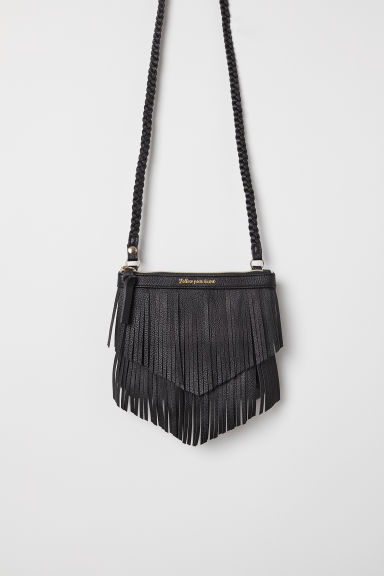 Shoulder bag with fringing - Black - Kids | H&M