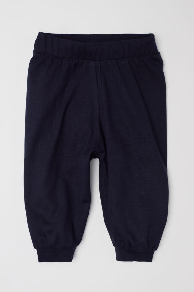 Pantaloni in jersey - Blu scuro - BAMBINO | H&M IT