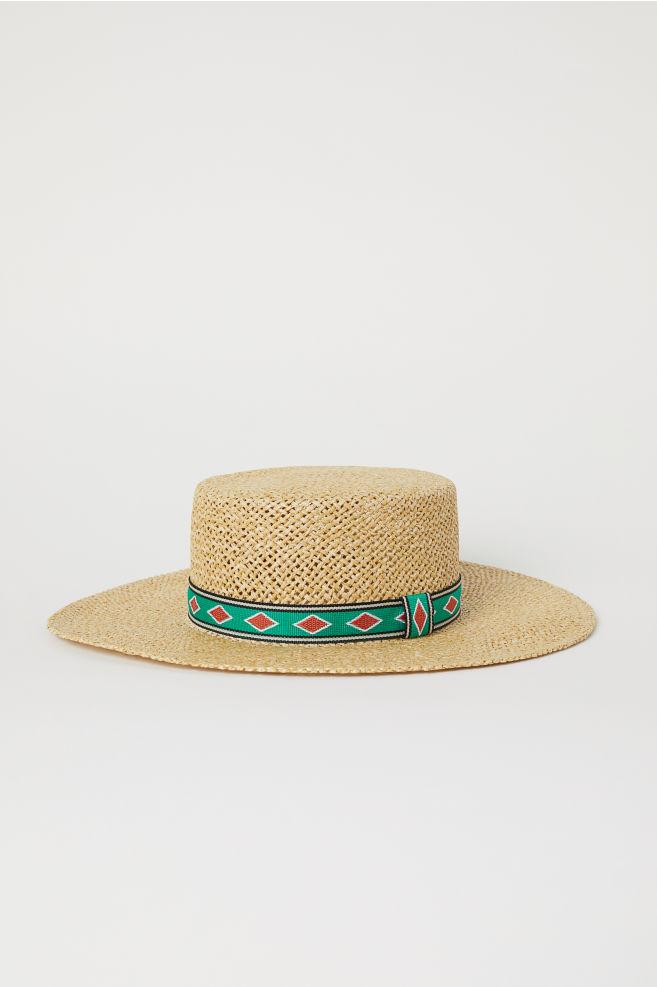 5d9fd1f5e93 Straw Hat - Natural - Ladies